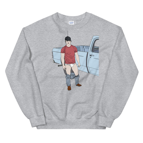 Truckin' Sweatshirt - Big Gay Store