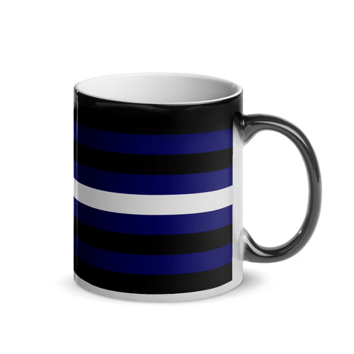 Leather/BDSM Pride Flag Magic Mug - Big Gay Store