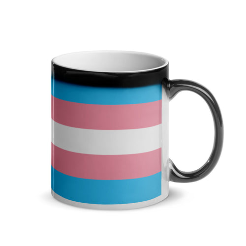 Transgender Pride Flag Magic Mug - Big Gay Store