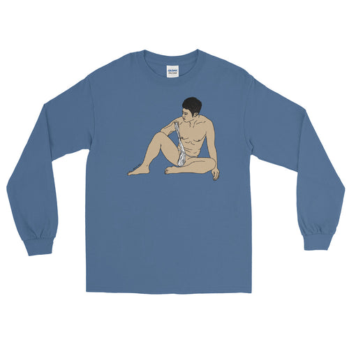Untying Long Sleeve T-Shirt - Big Gay Store