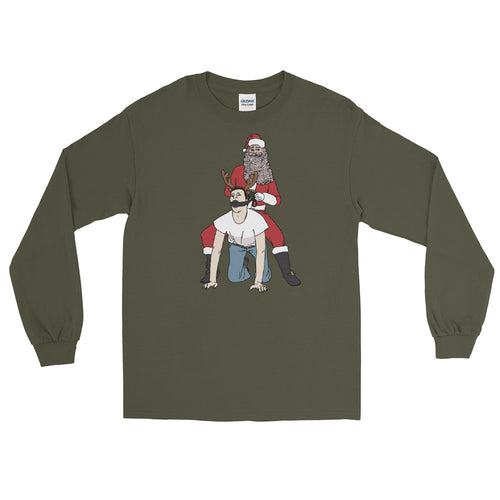 On Prancer Long Sleeve T-Shirt - Big Gay Store