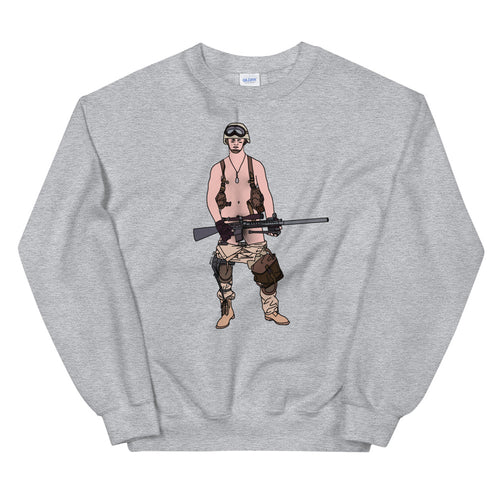 Guy Got His Gun Sweatshirt - Big Gay Store