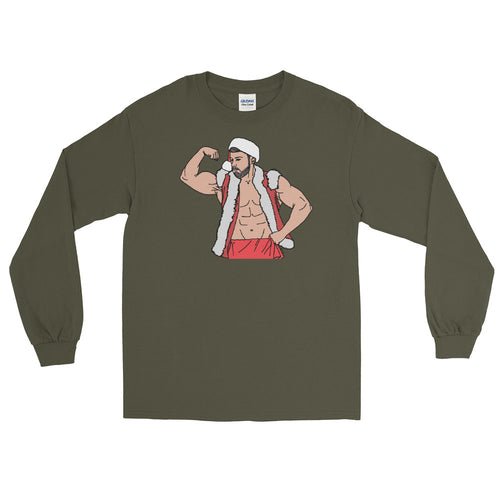 Sexy Santa Long Sleeve T-Shirt - Big Gay Store