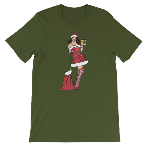 Sexy Mrs. Claus Short-Sleeve T-Shirt - Big Gay Store