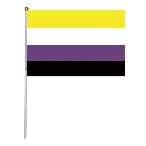 50 Nonbinary Hand Flags - 5.5