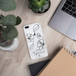 Logo Line Drawing iPhone Case