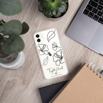 Line Drawing iPhone Case