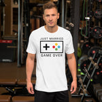 Just Married Game Over Unisex T-Shirt