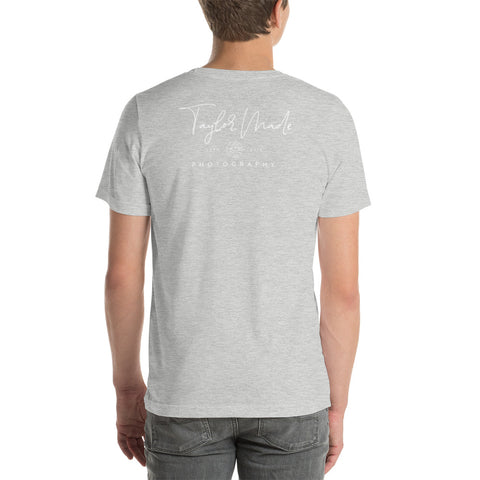 Taylor Made Photography - White Logo Tee
