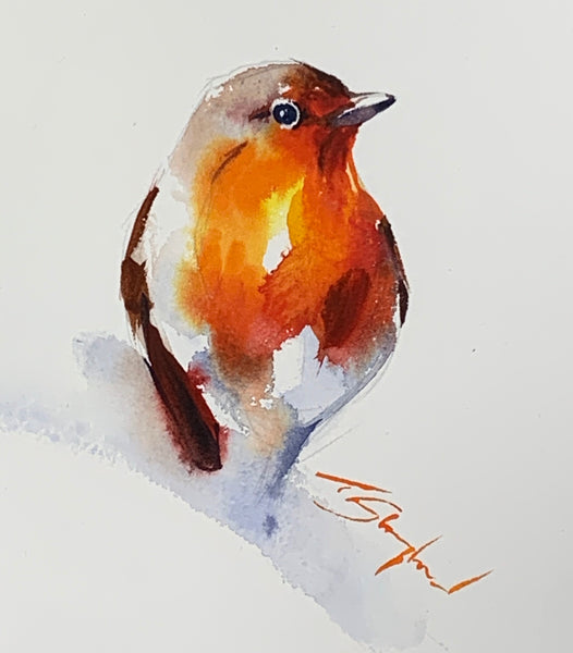 Cheeky Robin - Original Painting