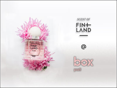 Scent of Finland @ Box by Posti   31.08 - 04.10.2020