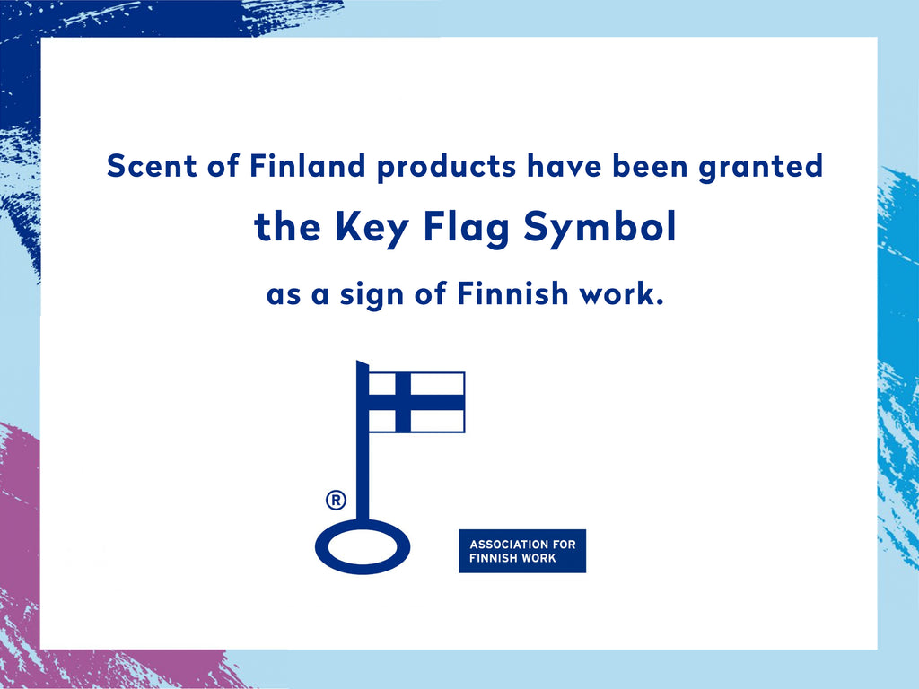 Scent of Finland Finnish Key Flag symbol