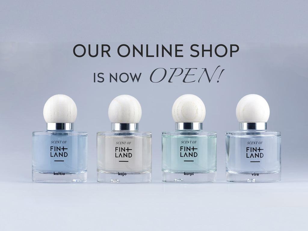 Scent of Finland online shop is now open