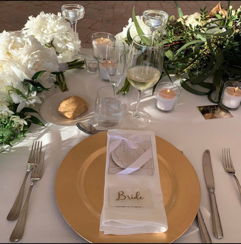 Clear Acrylic Place Settings