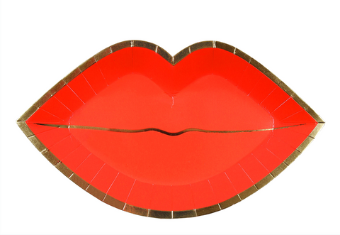 Red Lips Plates