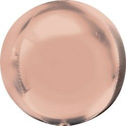 Rose Gold orb balloon