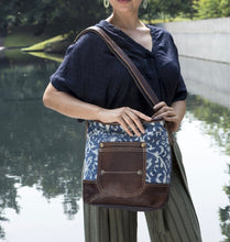 Load image into Gallery viewer, Blue Bliss Shoulder Bag