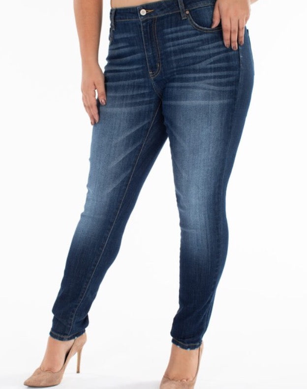 Tanya Dark Skinny Jean-Plus