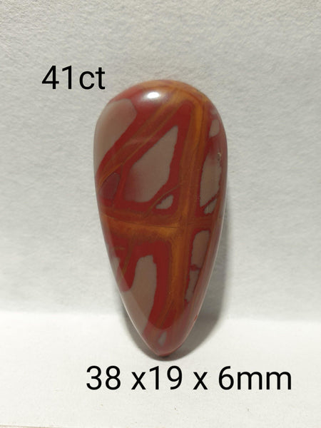 41ct Freeform Noreena jasper cabochon
