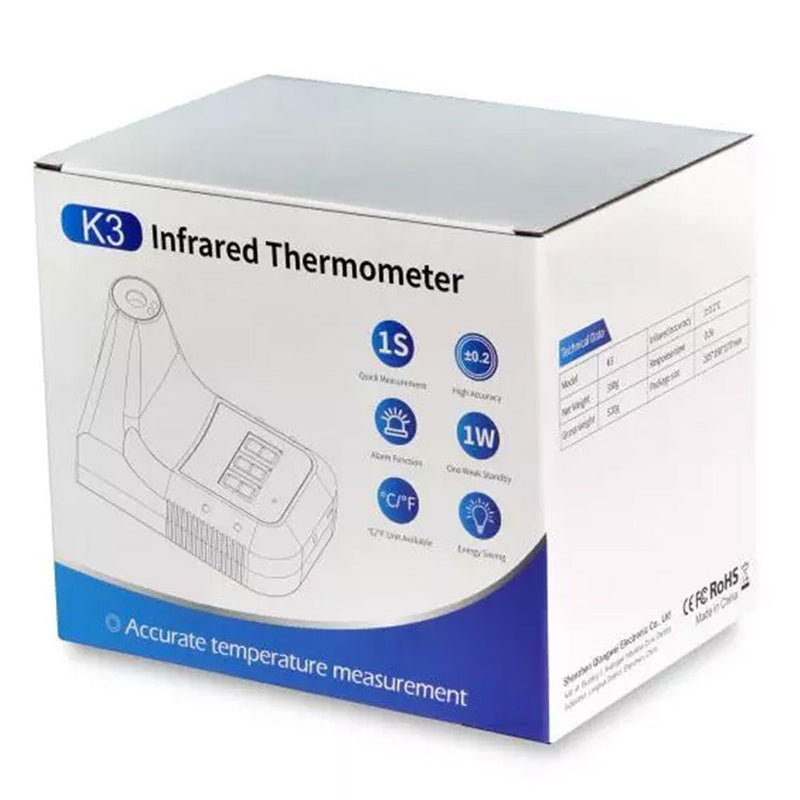 Automatic Thermometer + Banner (Commercial Grade)