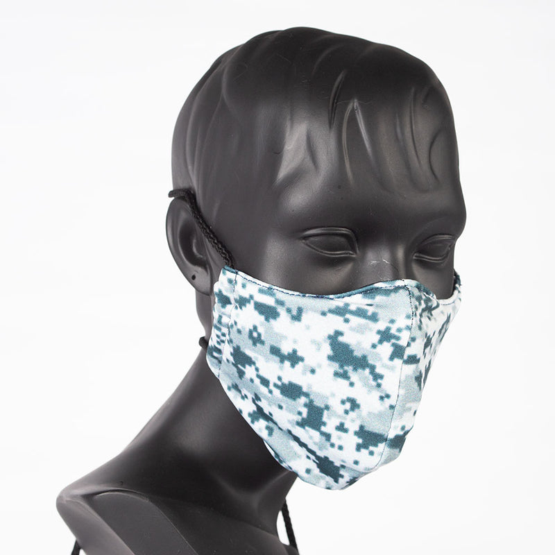 MASK - CAMO - GREY SNOW