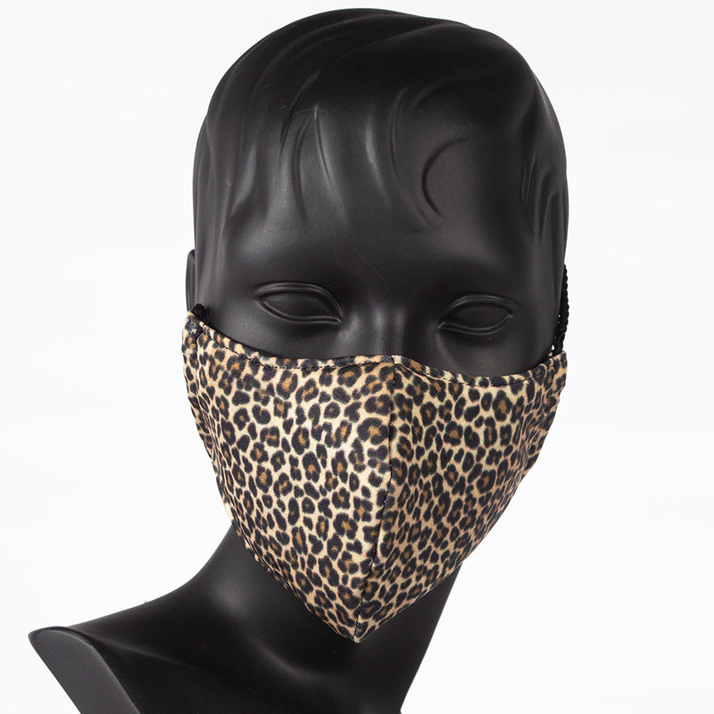 MASK - COLORFUL PRINT - LEOPARD PRINT