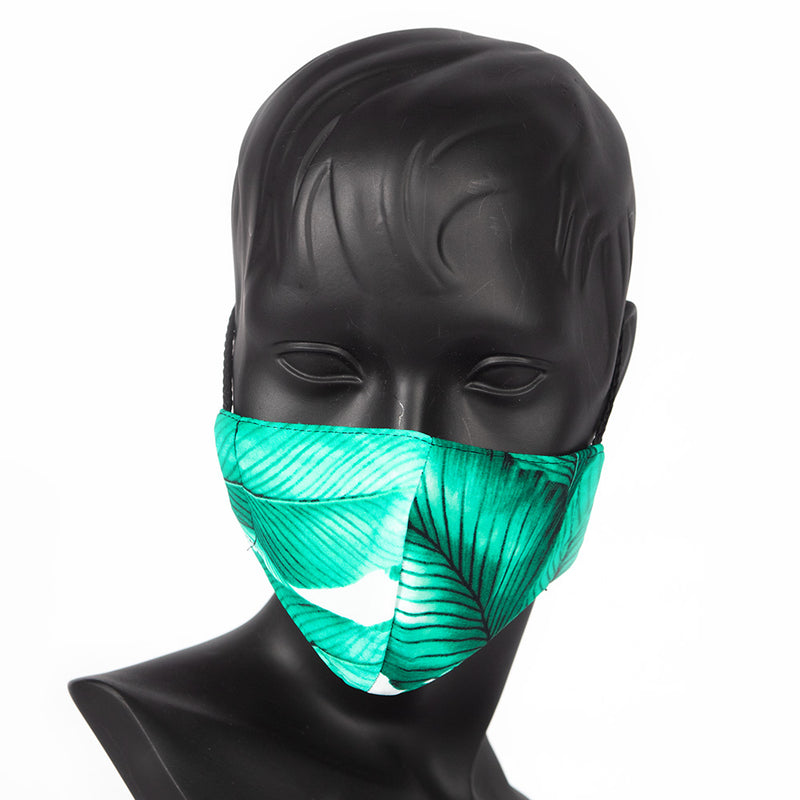 MASK -GREEN LEAVES