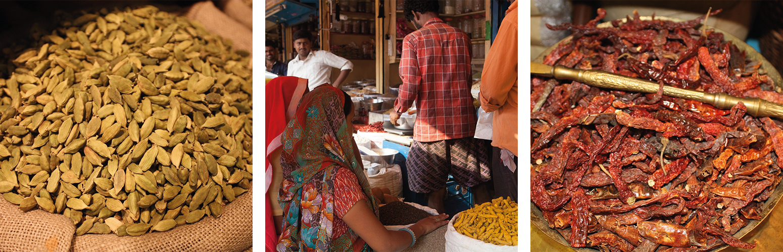 Images of spice and spice market