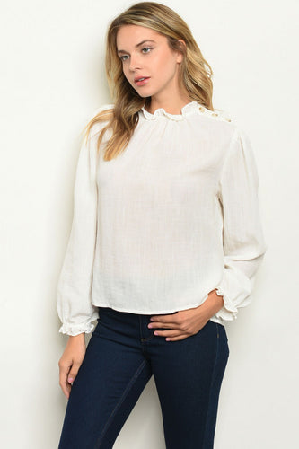 Charlotte White Blouse