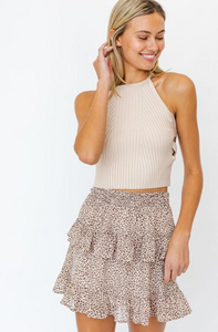 Molly Side Detail Crop Top