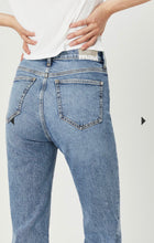 Load image into Gallery viewer, Veronica Recycled Blue Straight Leg Denim