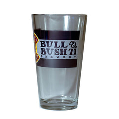 "Bull & Bush® Brewery ""Colorado Theme"" pint glass"