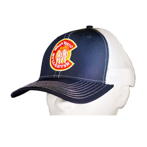 Bull & Bush Brewery Snap-Back Trucker Hat