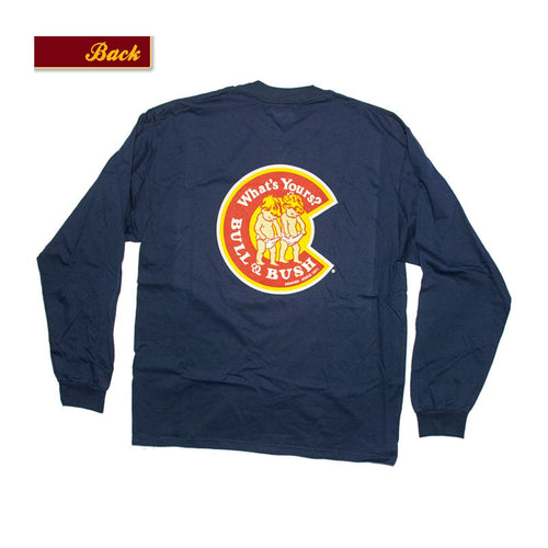 Product Image - Bull & Bush Brewery Long Sleeve T-Shirt with