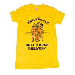 Bull & Bush Poster Inspired T-Shirt - WOMEN'S