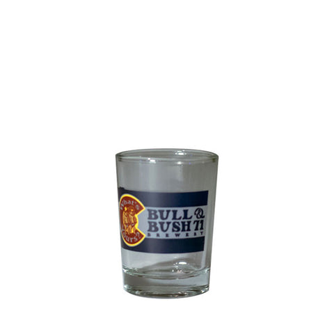 Bull & Bush Brewery Shot Glass