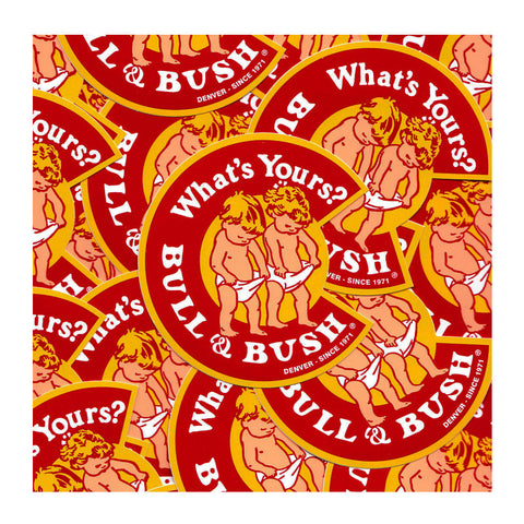 "Bull & Bush® Brewery ""C"" Logo Stickers"