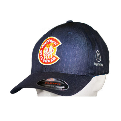 Bull & Bush Brewery Pinstriped Flexfit Hat