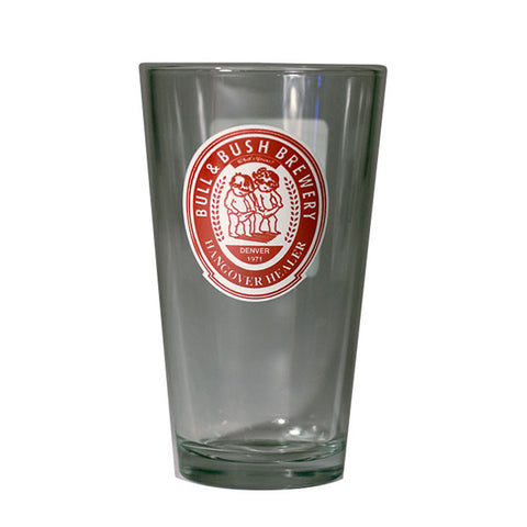 "Bull & Bush® Brewery ""Hangover Healer"" pint glass"