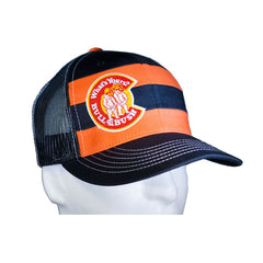 Bull & Bush Brewery Striped Trucker Hat