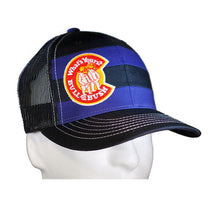Load image into Gallery viewer, Bull & Bush® Brewery Striped Trucker Hat