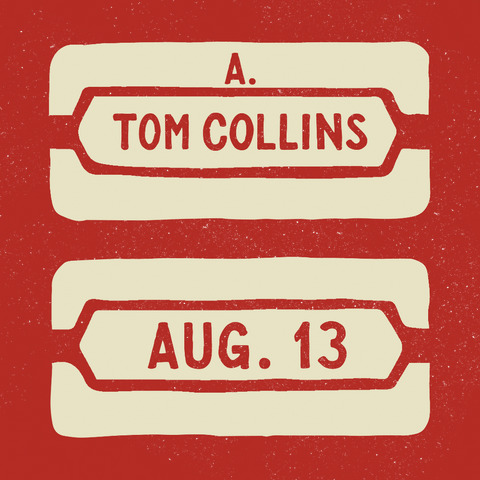 August 13, 2016 - 45th Anniversary Party with A. Tom Collins