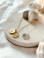 Myleti jewellery handmade gold plated and sterling silver personalised initial necklaces