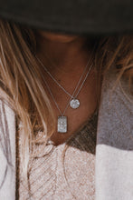 Load image into Gallery viewer, Handmade Myleti textured pendant necklace