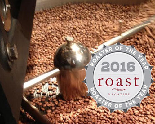 Mudhouse Coffee Roasters Named 2016 Roaster of the Year Finalist