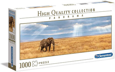 Elephant - 1000 Pcs - Panorama High Quality Collection