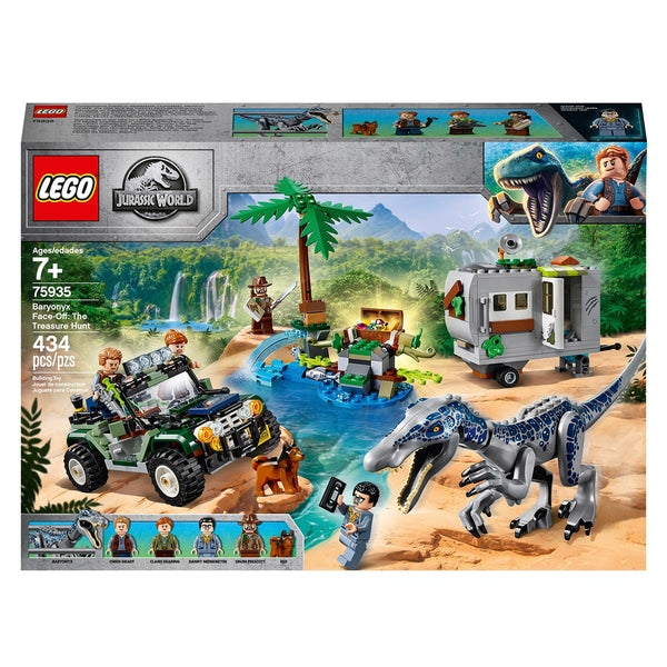 Jurassic World 75935  - Baronyx The Treasure Hunt