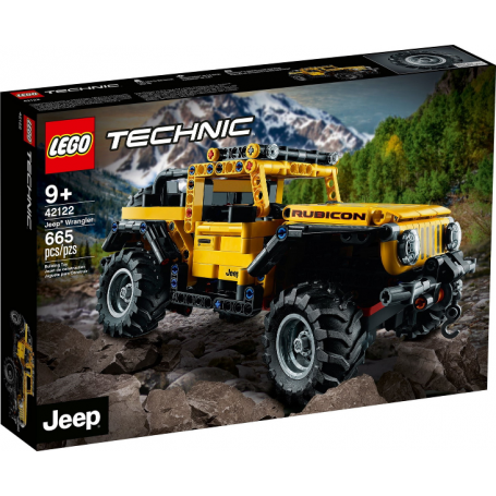 Technic 42122 - Jeep® Wrangler