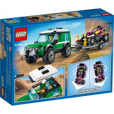 City 60288 - Le transport du buggy de course