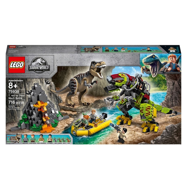 Jurassic World 75938  - T Rex vs Dino-Mech Battle